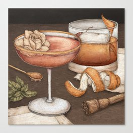 Cocktails Canvas Print