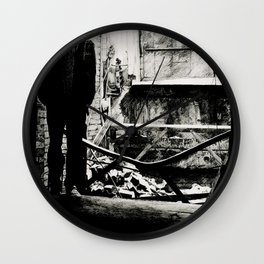 Cloaked in Darkness Wall Clock
