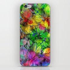 Dream Colored Leaves iPhone & iPod Skin