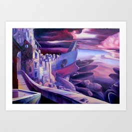 The Lord of Smegma Art Print