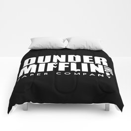 The Office Dunder Miflin Comforters