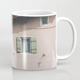 Pink Alpine House Coffee Mug