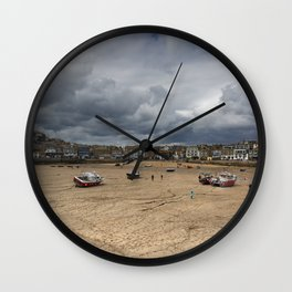 The Clouds of St Ives Wall Clock