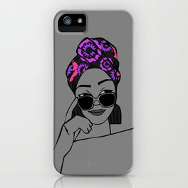 Undercover Natural iPhone Case