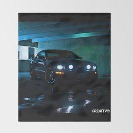 2006 Mustang - Photo Throw Blanket