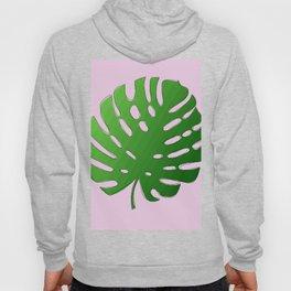 Palm Tree Leaf Art Print Hoody