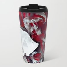 Red smoke Metal Travel Mug