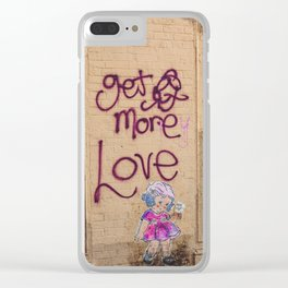 More Love in Brooklyn Clear iPhone Case