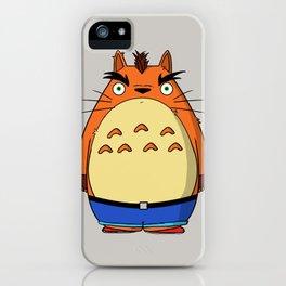 Toto Crash iPhone Case