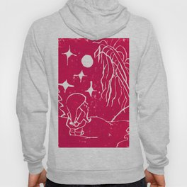Winter Elf Cherry Pink Hoody