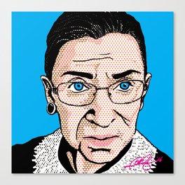 Pop Ruth Bader Ginsburg Canvas Print