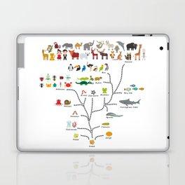 Evolution scale from unicellular organism to mammals. Evolution in biology, scheme evolution Laptop & iPad Skin