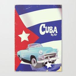 Cuba by Air Canvas Print