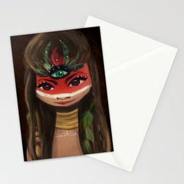 Red face ;) Stationery Cards
