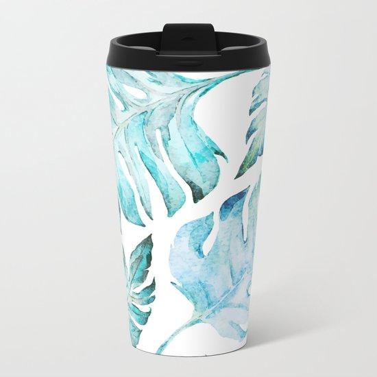 love tropical Metal Travel Mug