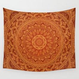 Mandala Spice Wall Tapestry