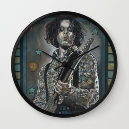 Jack White Wall Clock
