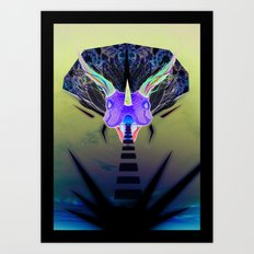 Volantesaurus Lux Art Print