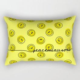 PMO Yellow Happiness Rectangular Pillow