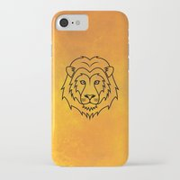 courage iPhone & iPod Cases featuring Courage by Alex Ink