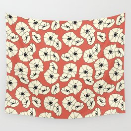 Retro bloom 004 Wall Tapestry