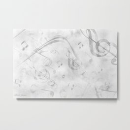 DT MUSIC 12 Metal Print