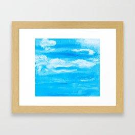 Blue Skies in Florida #6 Framed Art Print
