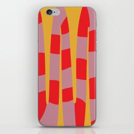 Abstract Snake iPhone Skin