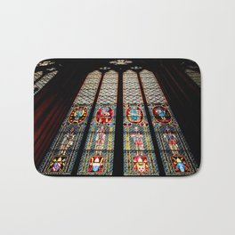 Cathedral Window Bath Mat