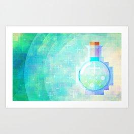 Potion of Health Art Print