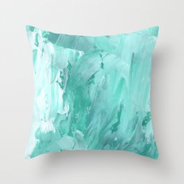Abstract 1073 Throw Pillow