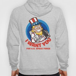 US Space Force I Want You Uncle Sam Hoody