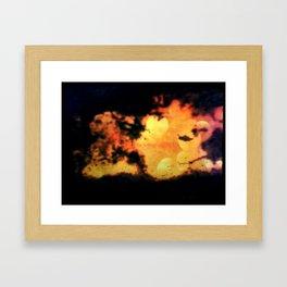 XZ3 Framed Art Print