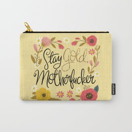 Pretty Sweary- Stay Gold MotherF'er Tasche