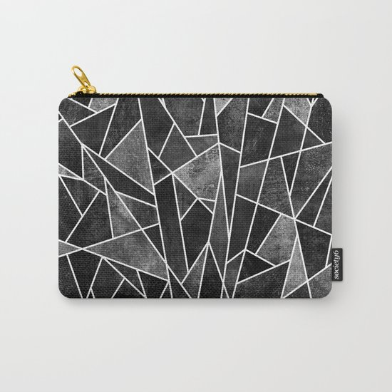 Shattered Black Carry-All Pouch