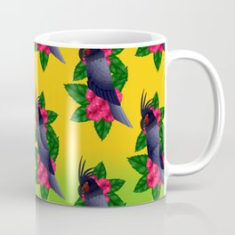 Palm Cockatoo (Probosciger aterrimus) Coffee Mug