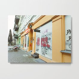 Street Art In Berlin Metal Print