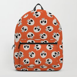 Cute Skulls (Orange) Backpack