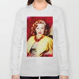 Gloria Grahame, Vintage Actress Long Sleeve T-shirt