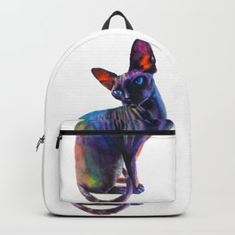 Black sphynx Backpack