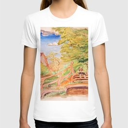 Reading Outside the Village T-shirt
