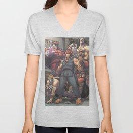 Street Fighter - Villains Unisex V-Neck