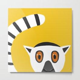 Lemur Kata Metal Print