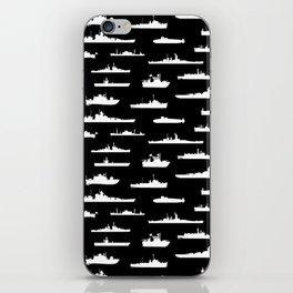 Battleship // Black iPhone Skin