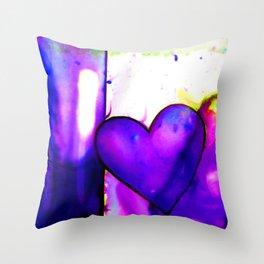 Heart Dreams 1I by Kathy Morton Stanion Throw Pillow