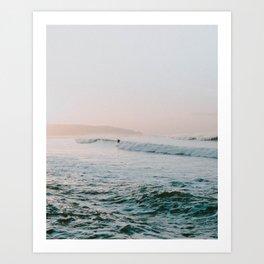 summer waves Art Print