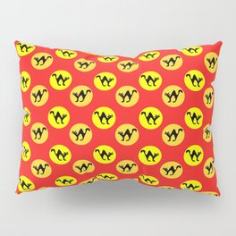 Halloween cat pattern Pillow Sham