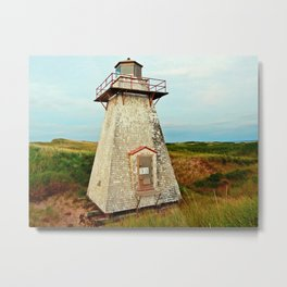 St. Peter's Lighthouse in the Dunes Metal Print