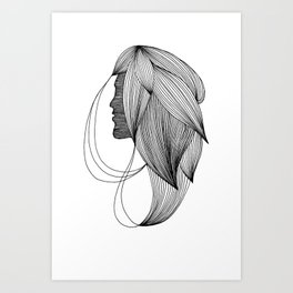 Haartooi Art Print