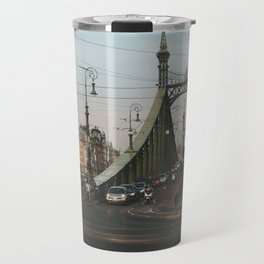 Liberty Bridge, Budapest Travel Mug